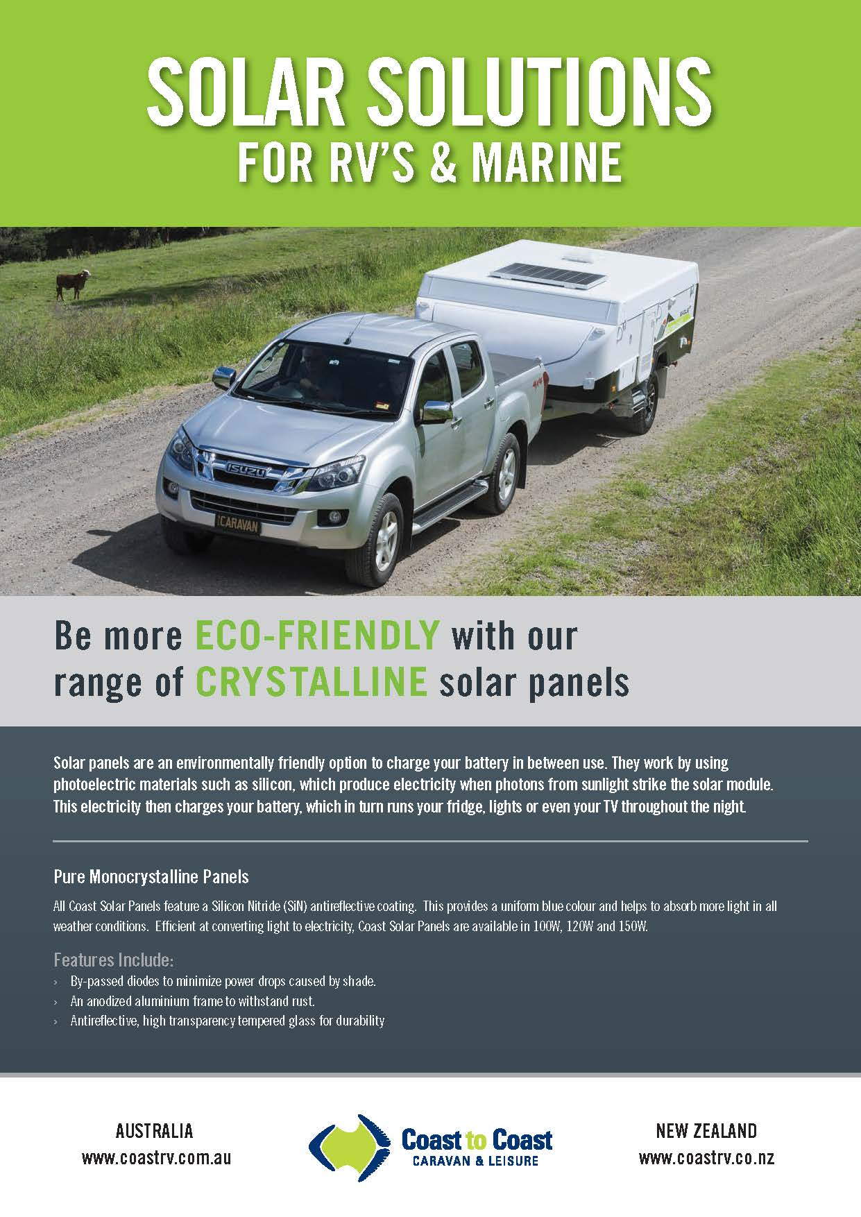 Coast Solar Solutions Brochure
