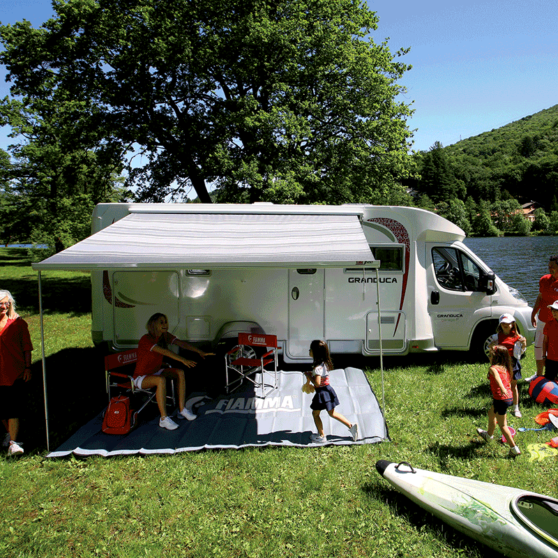 Fiamma F45 S 400 Bordeaux Awning