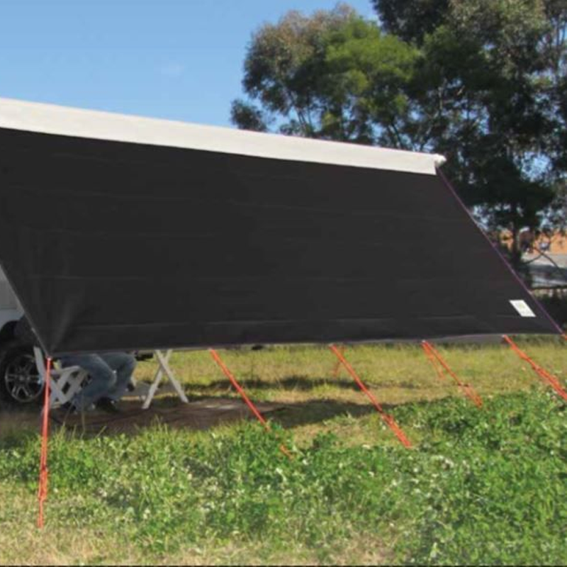 Black Front Sunscreen to Suit Rollout Awning