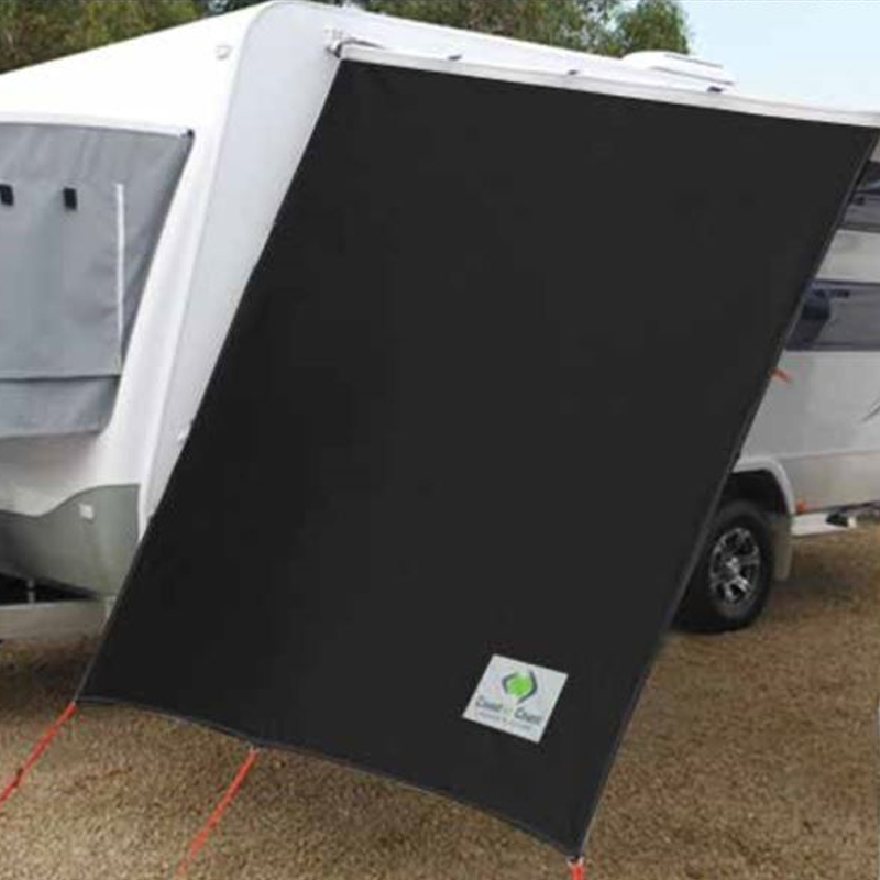 Black Side Sunscreen for Caravans