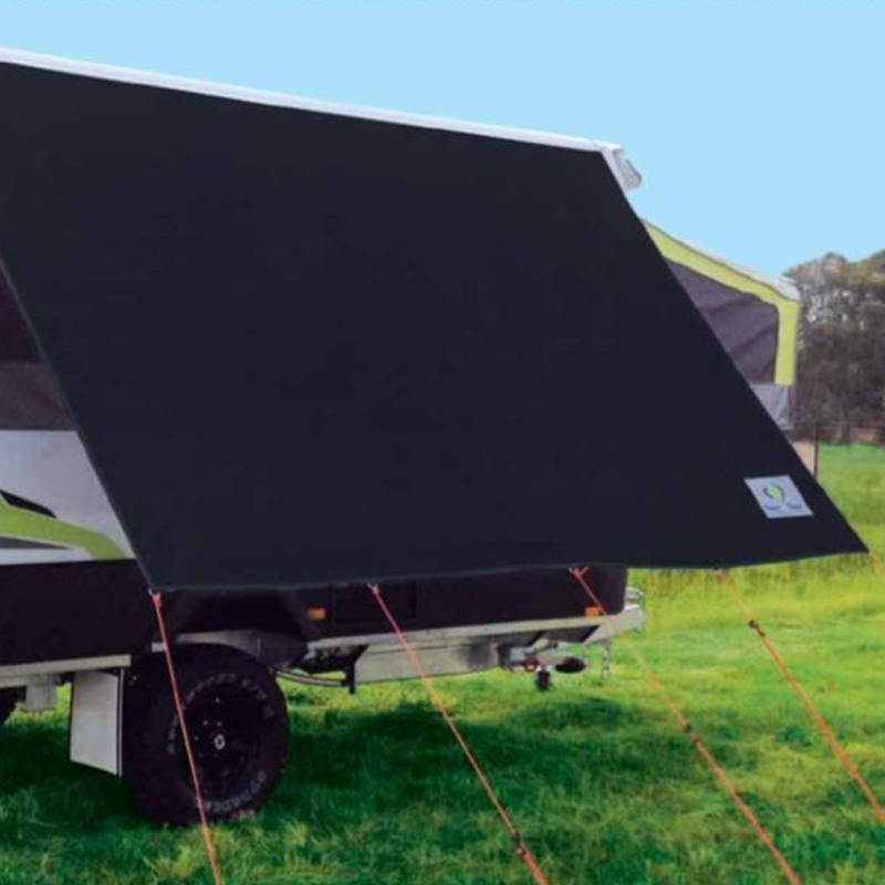 Black Camper Privacy Sunscreens Offside