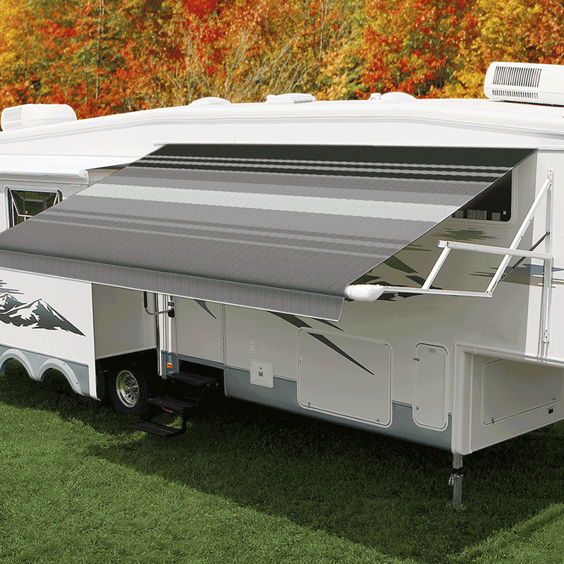 17ft Black & Gray Dune Roll Out Awning (No Arms)