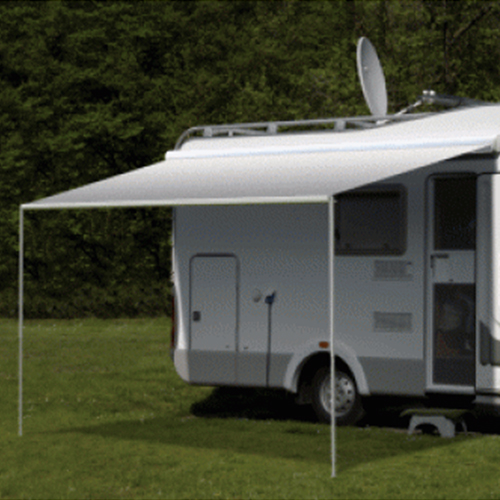 Freedom 2.5m Silver Shale Fade 12V Box Awning (No Arms)