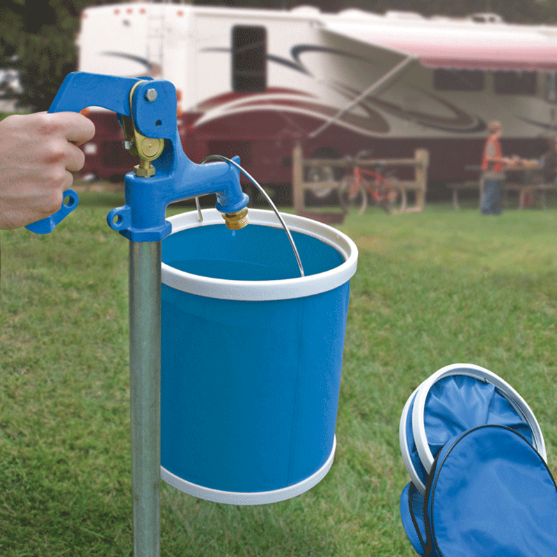 RV Collapsible Bucket