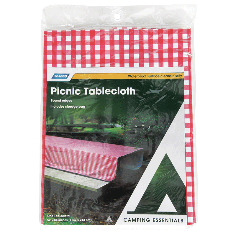 Camco Vinyl Tablecloth