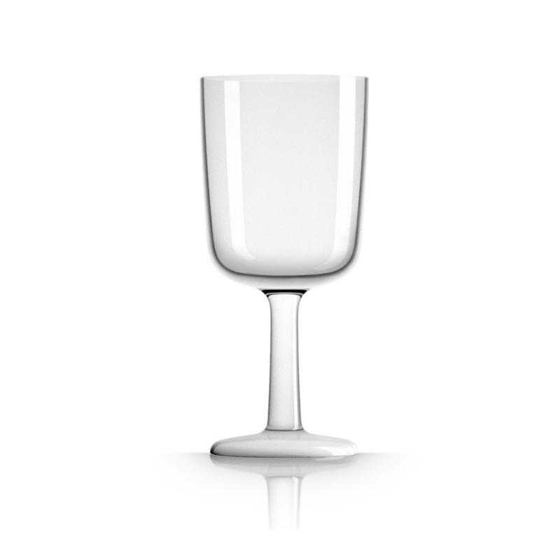 Palm Marc Newson Tritan Wine Glass w/ White Base 300ml