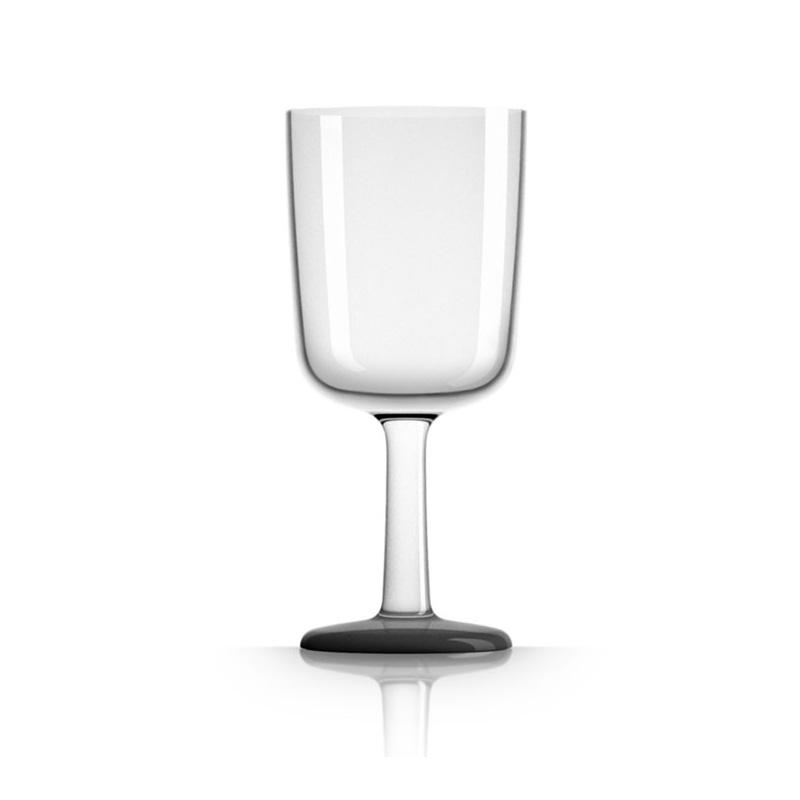 Palm Marc Newson Tritan Wine Glass w/ Black Base 300ml