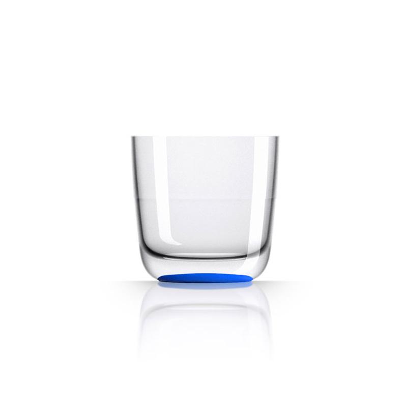 Palm Marc Newson Tritan Whisky Cup w/ Navy Blue Base 285ml