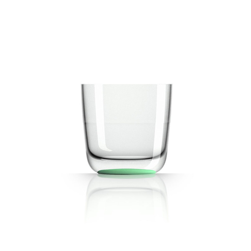 Palm Marc Newson Tritan Whisky Cup w/ Green Glow In The Dark Base 285ml