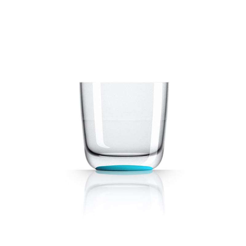 Palm Marc Newson Tritan Whisky Cup w/ Vivid Blue Base 285ml