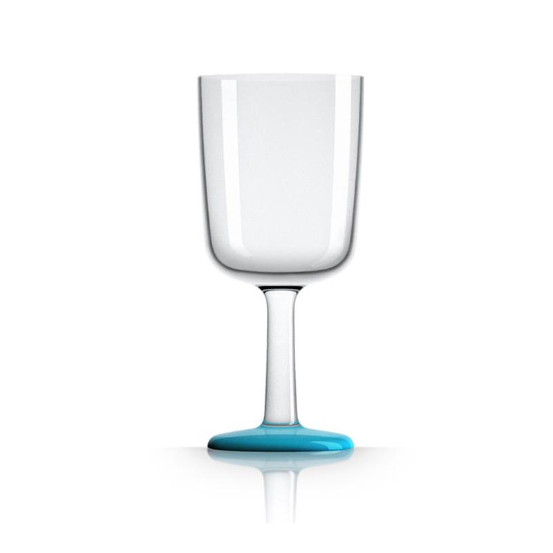 Palm Marc Newson Tritan Wine Glass w/ Vivid Blue Base 300ml