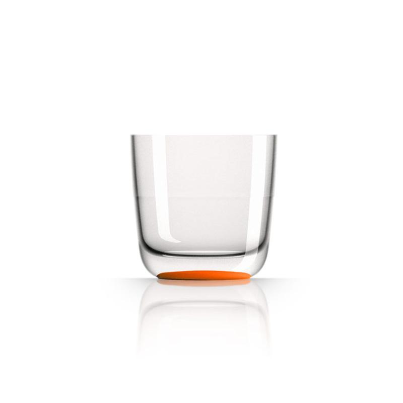Palm Marc Newson Tritan Whisky Cup w/ Cadmium Orange Base 285ml