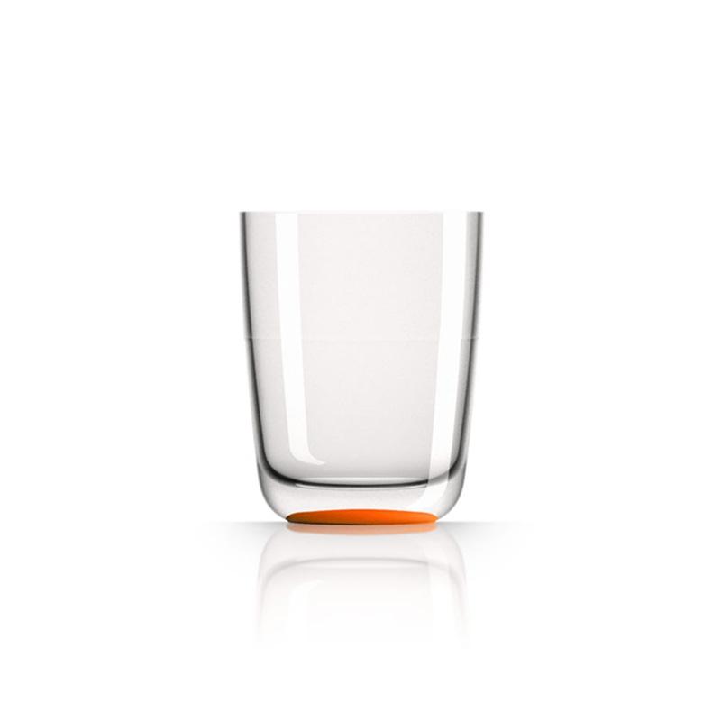 Palm Marc Newson Tritan Highball Cup w/ Cadmium Orange Base 425ml