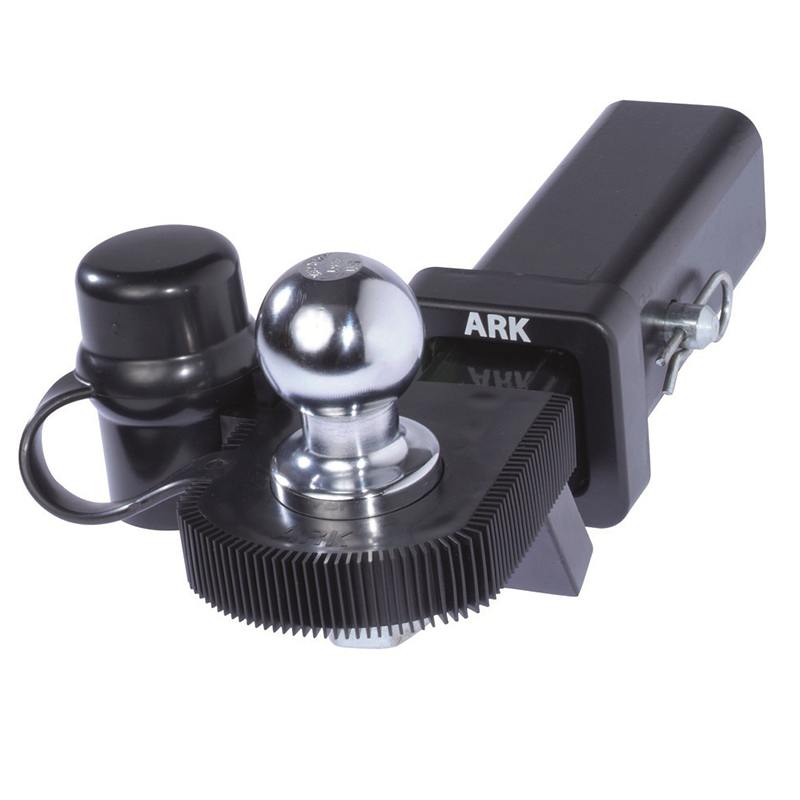 Ark Black Shin Protector With Tow Ball Cover