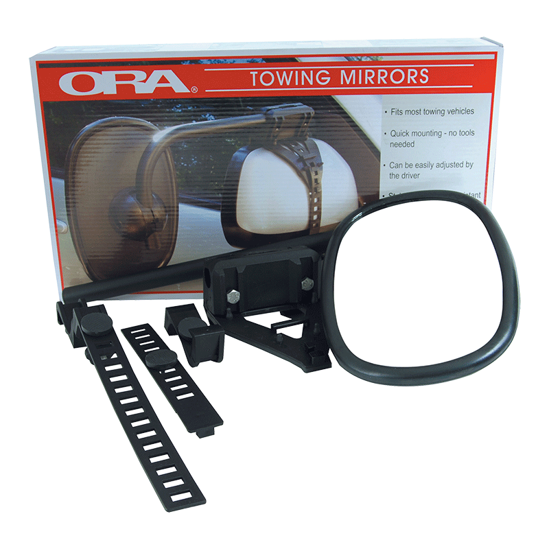 Ora Italian Clip-On Towing Mirrors
