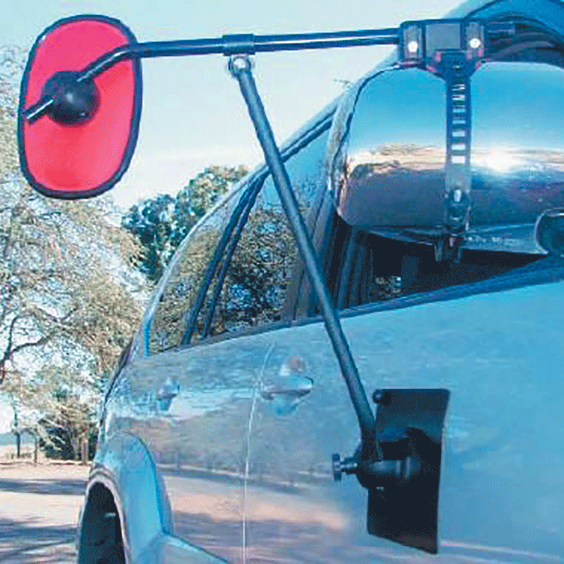 Big Red Magnetic Towing Mirror
