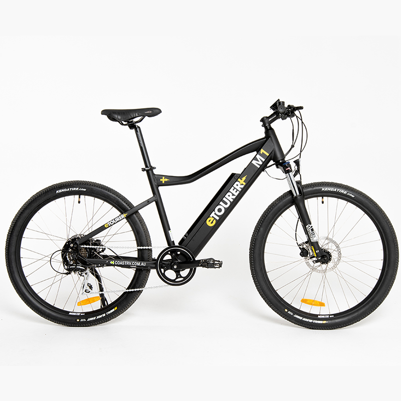 eTOURER M1 E-Bike MTB Model - Black