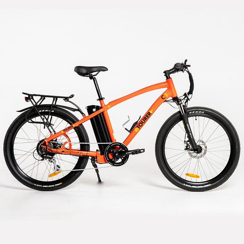 eTOURER C1 E-Bike Urban Model - Metallic Orange