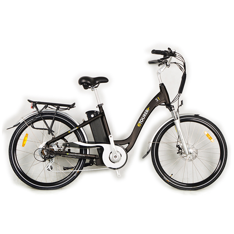 eTOURER S1 E-Bike Unisex Model - Black.