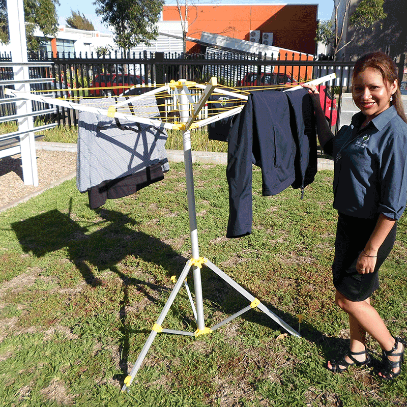 Coast Portable Folding Clothesline 4 Arms