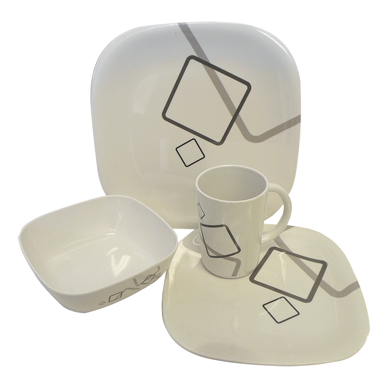 Coast Melamine Dinnerware - Metropolitan Dinner Set