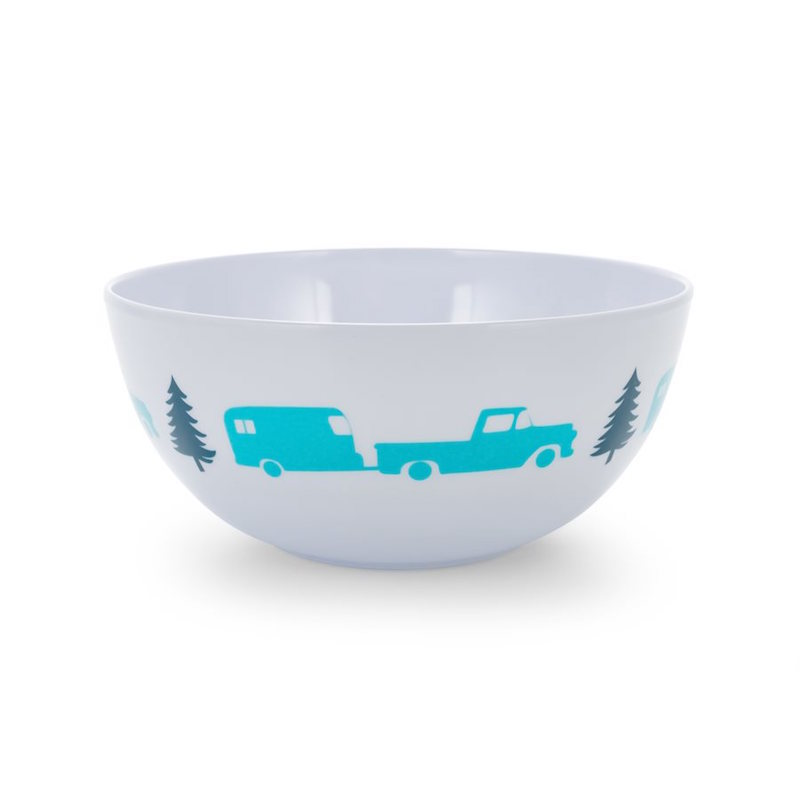 Camco Melamine Bowl, Trailer/Tree Pattern