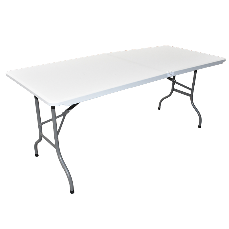 6' Bi-Folding Table with Bolt Lock