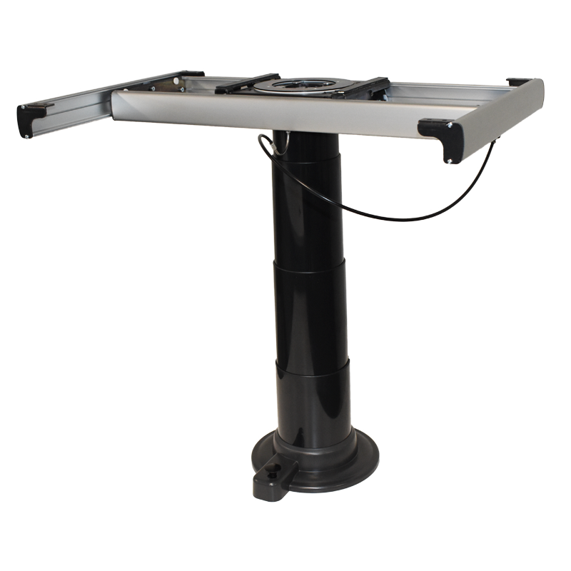 Black Nuova Mapa Telescopic & Adjustable Table Leg