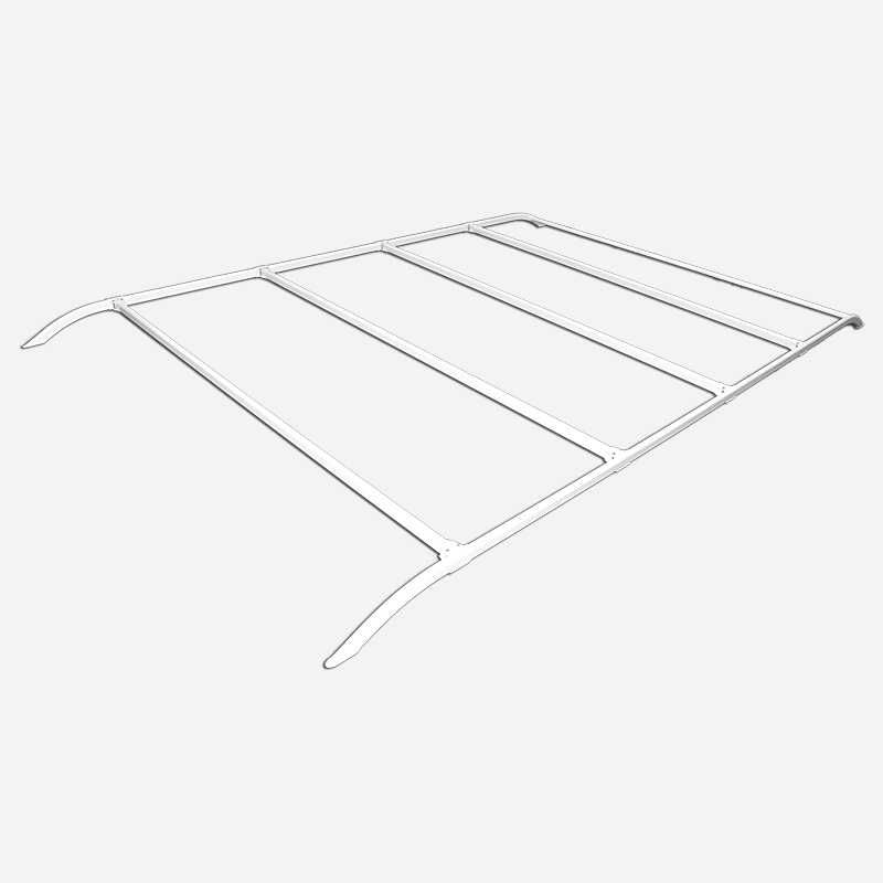 Coast Adjustable Roof Rack White