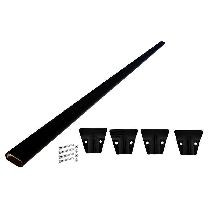 Coast Roof Rack Cross Bar Kit Black