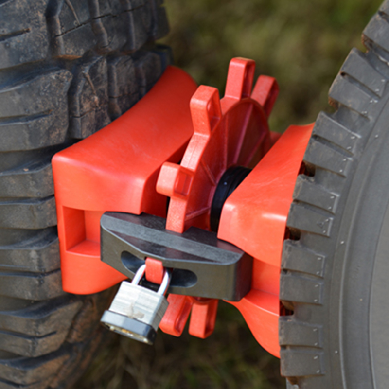 HAIGH DUAL WHEEL CHOCK N'LOCK