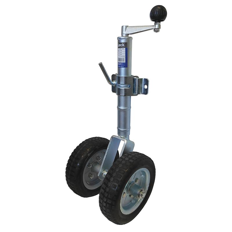 Twin Jockey Wheel 10