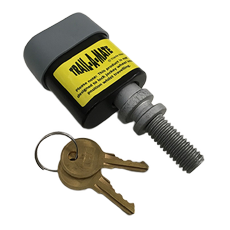 Jockey Wheel Clamp Anti-Theft Lock by Trail-A-Mate