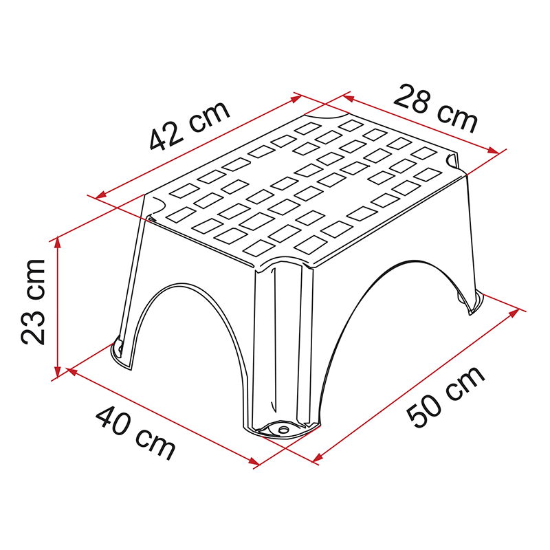 Fiamma Plastic Step Small