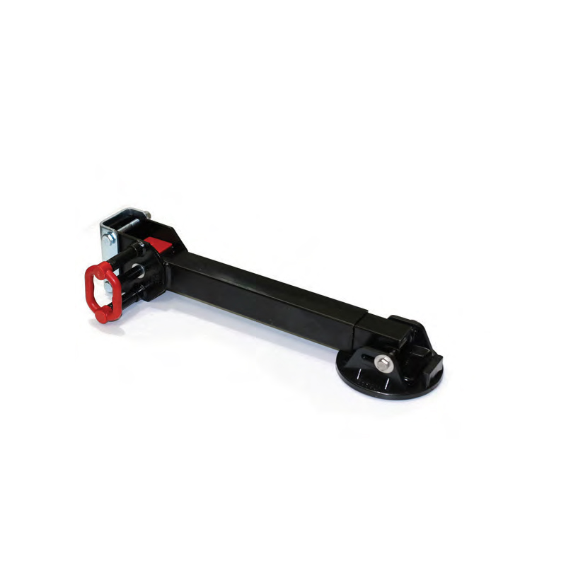 ALKO Black 740mm Drop Down Corner Steady