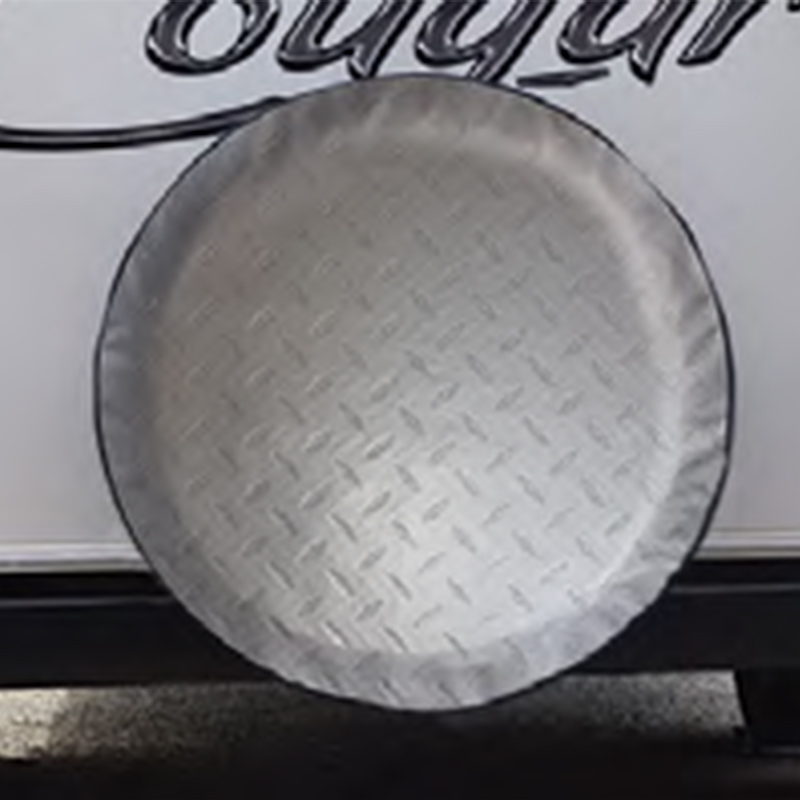 ADCO Tyre Cover Diamond Plate 27