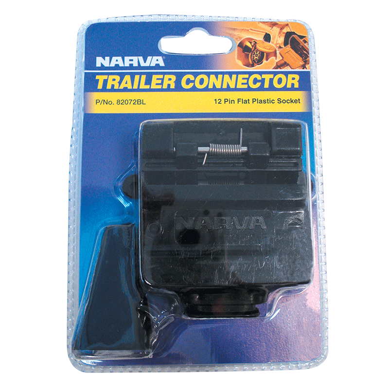 Narva 12 Pin Trailer Socket