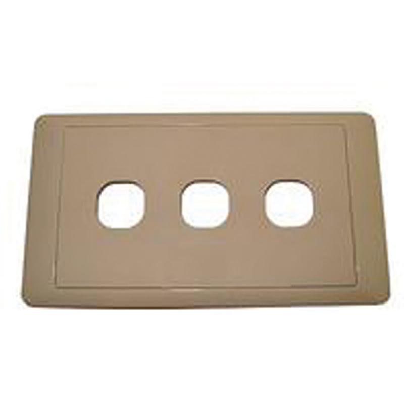 CMS Triple Switch Plate