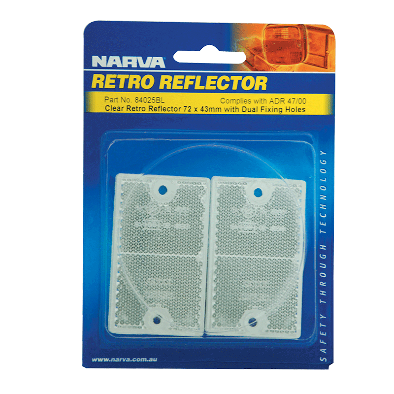 Narva Clear Retro Reflector