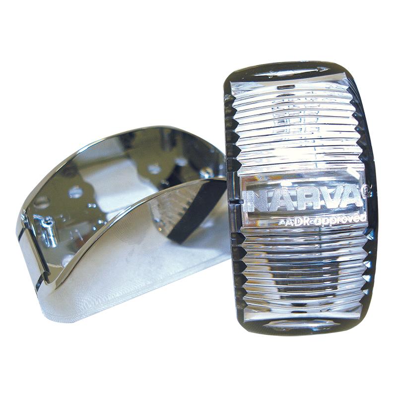 Narva L.E.D Side Lamp - Chrome base