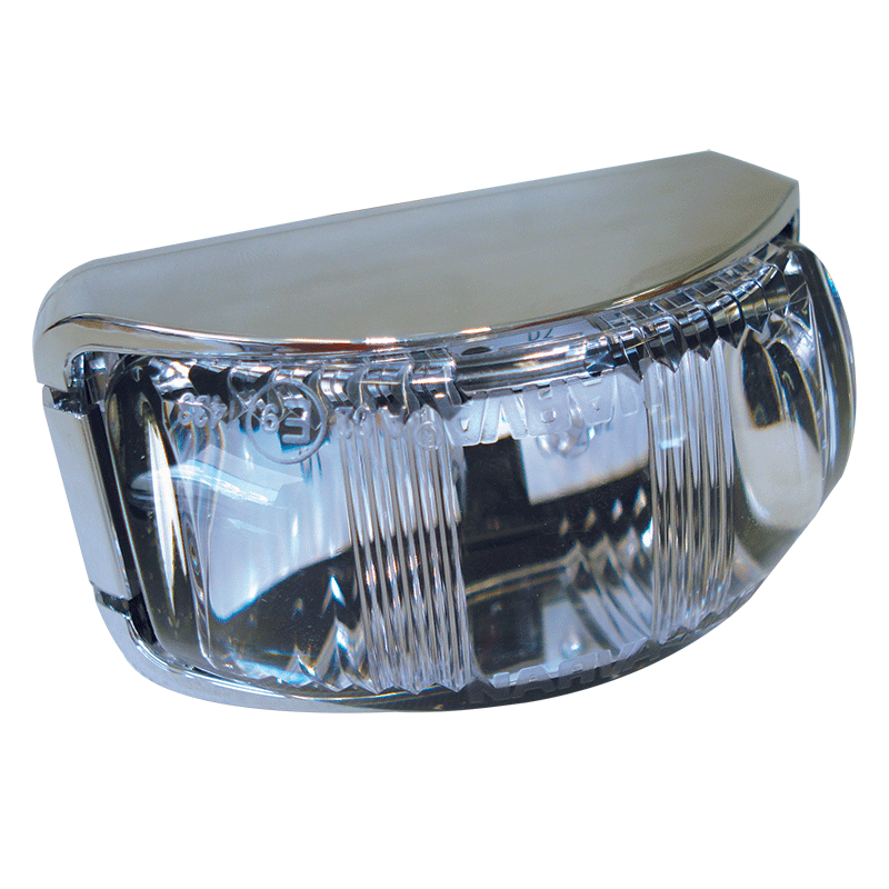 Narva L.E.D Front Lamp White - Chrome Base