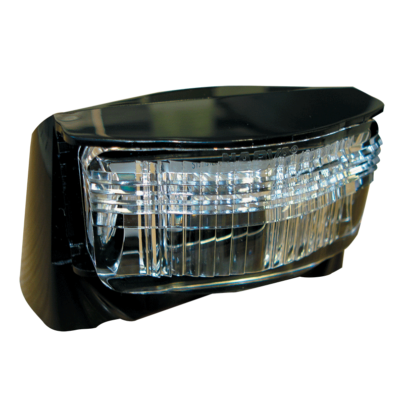 Narva L.E.D Licence Plate Lamp Black Housing