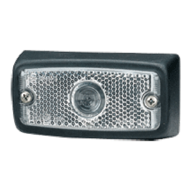 Narva Clear Front Lamp With Rubber Boot & Built In Reflector