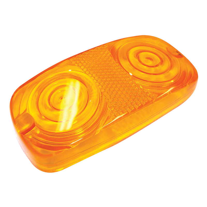 Amber Lens To Suit Side Lamp