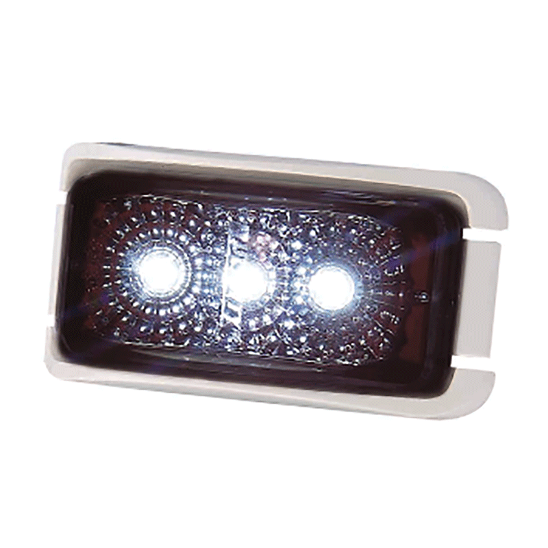 Coast LED Front Position Lamp White