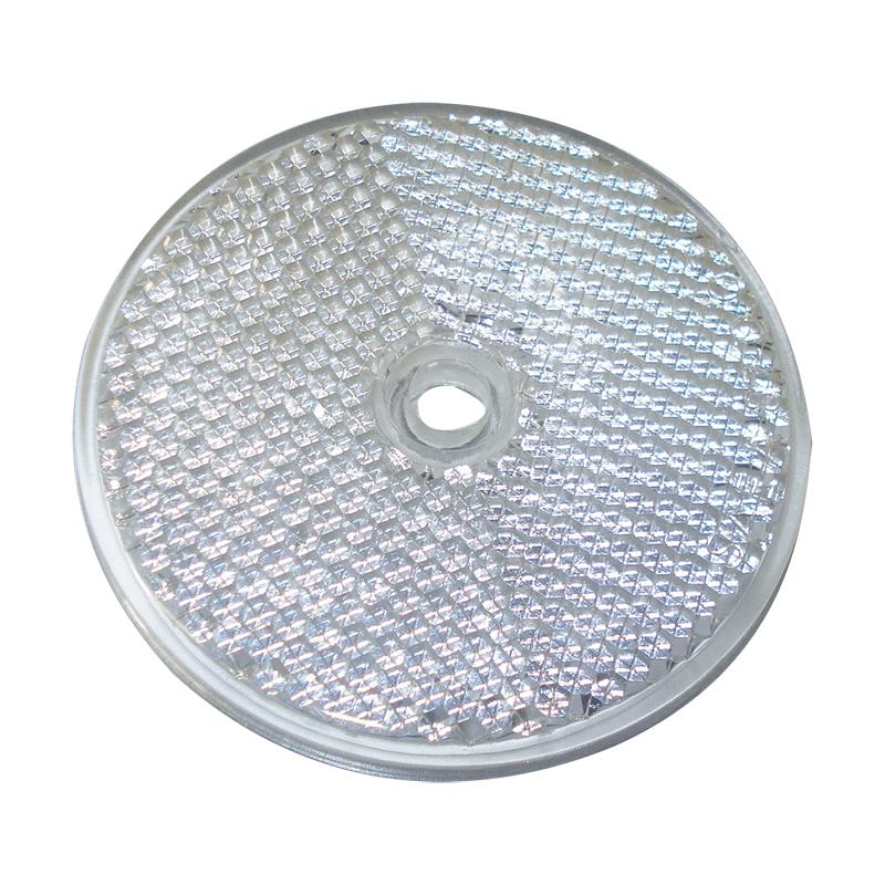Round Reflex Reflector - Clear