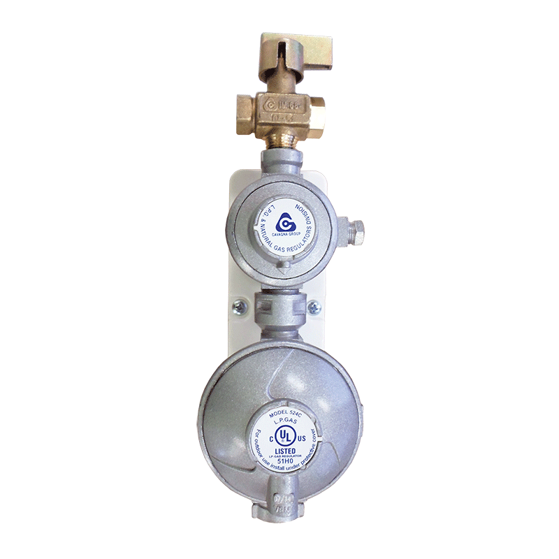 Gas Regulator 160mj & Mounting Bracket