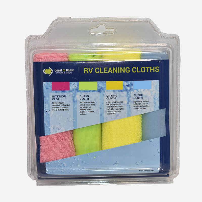 Coast Cleaning Cloth Pack of 4pcs