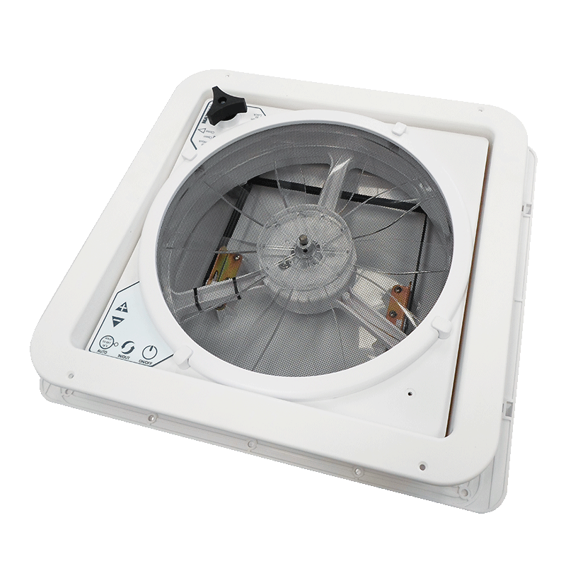 MaxxFan Plus with Thermostat & Manual Lift