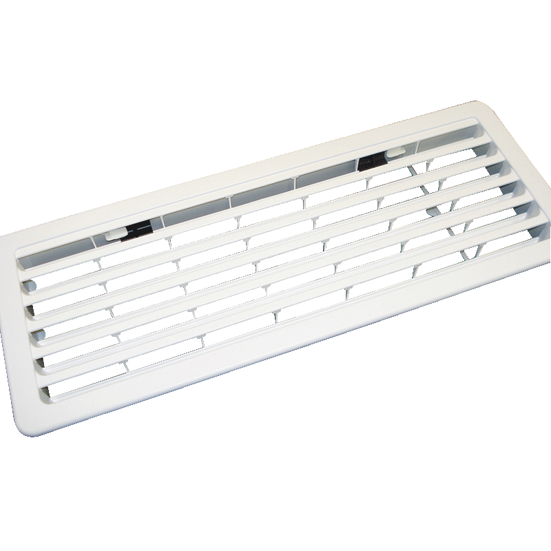 Thetford Bottom Outside Vent for 3-Way Fridges (White)